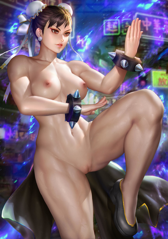 The Most Fukable Female Fighter (Chun-Li) by NeoArtCore | Street Fighter Hentai 1
