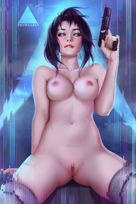 Motoko Kusanagi by Prywinko | Ghost in the Shell Hentai 1