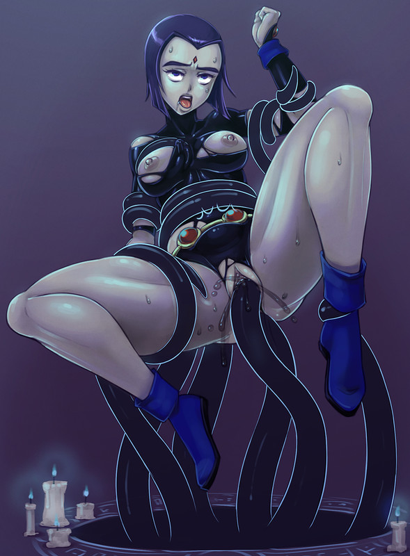 Raven and Black Magic - zelamir - DC's Teen Titans Hentai 10