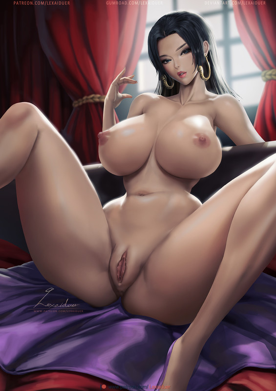 Naked Queen Boa Hancock - lexaiduer - One Piece