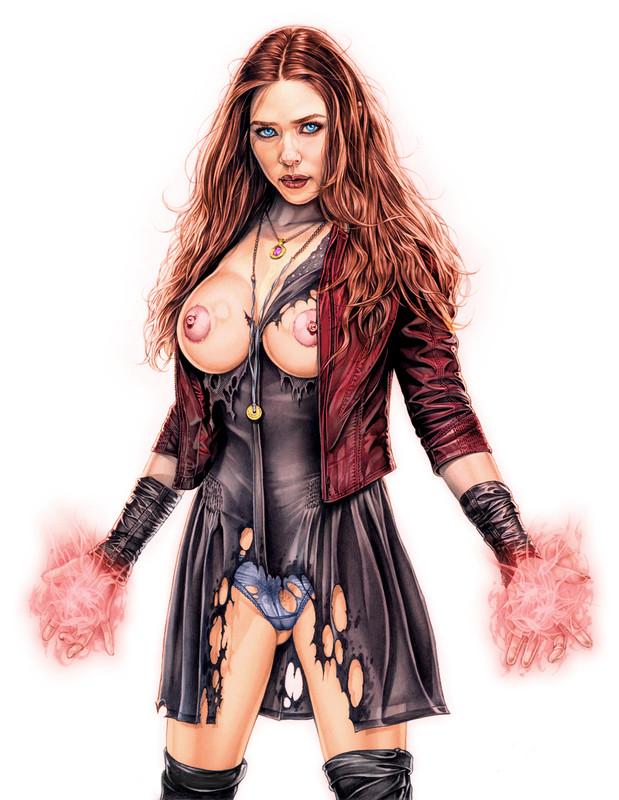 Scarlet Witch [Elizabeth Olsen] - Armando Huerta - Marvel's Avengers