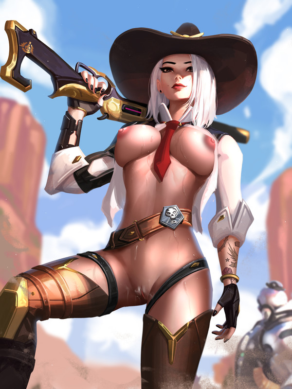 Ashe Hot and Sexy by Liang Xing | Overwatch Hentai 21