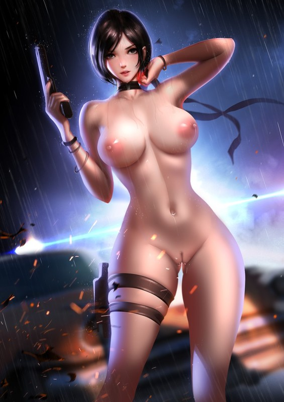 Ada Wong Sexy Body by Liang Xing | Resident Evil 2 Hentai 19