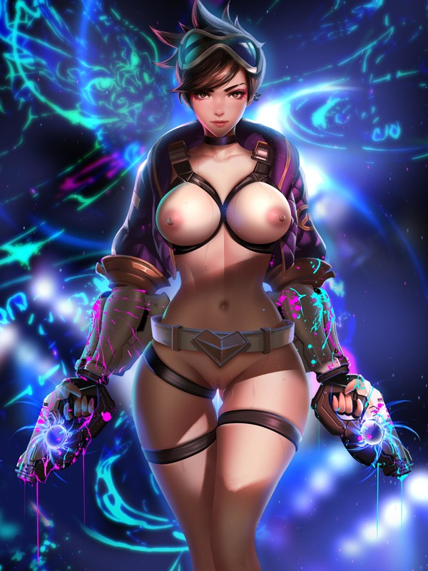 Sexy and Badass Tracer by Liang Xing | Overwatch Hentai 1