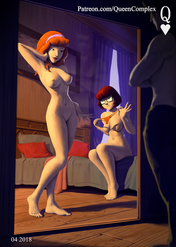 Velma and Daphne Ready for Sex by QueenComplex | Scooby-Doo