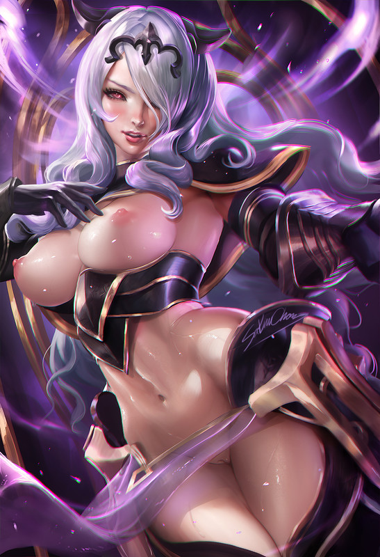 Sexy Armor Camilla Hentai by Sakimichan | Fire Emblem