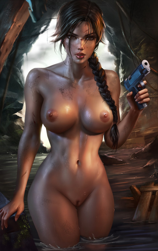 Hot Lara Croft Hentai by Logan Cure | Tomb Raider